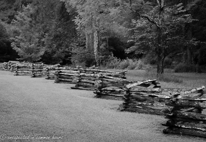 Fence at the Wooster House, New Echota Historic Site